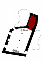 Picture: Small plan showing the present position