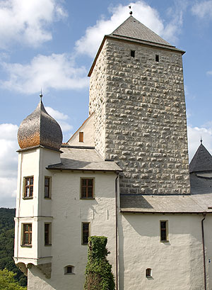 Picture: Prunn Castle, castle keep